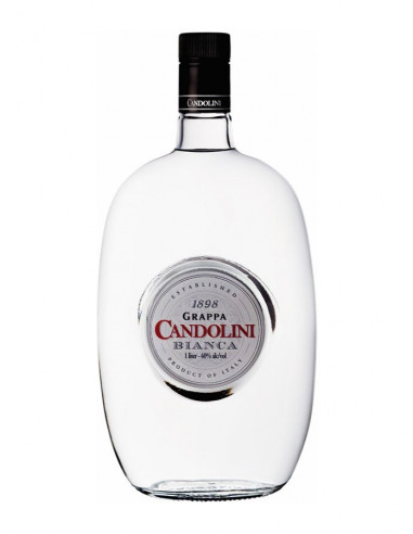 Grappa Candolini Bianca 1000ml.